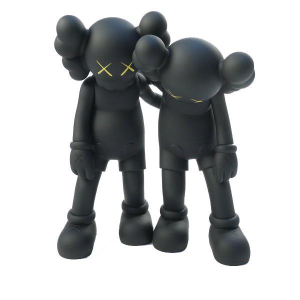 カウズ KAWS ×MEDICOM TOY メディコムトイ ALONG THE WAY フィギュア 黒 Size【フリー】 【新古品・未使用品】