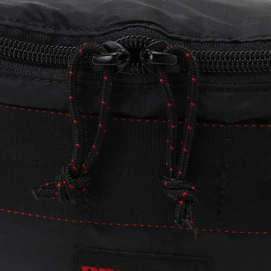ブリーフィング BRIEFING ショルダーバッグ ウエストバッグ ミニ ポッド SL パッカブル ウェストバッグ ボディーバッグ ブラック 黒 MINI POD SL BRM181204|stay|10