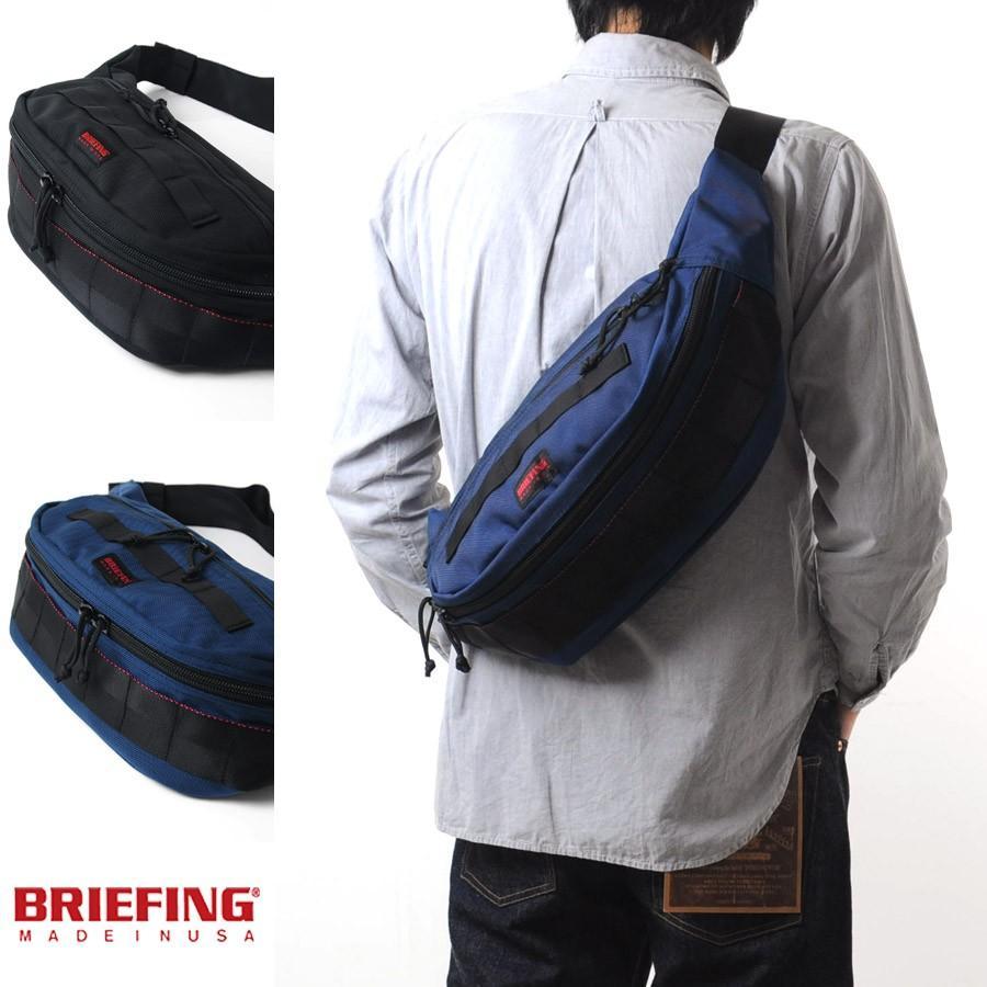 ブリーフィング BRIEFING 日本正規品 ボディバッグ ショルダーバッグ MASTER POD マスターポッド メンズ BRF225219 メンズ【お取り寄せ商品】|stay