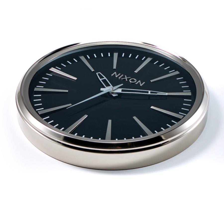 ニクソン NIXON 時計 壁掛け時計 ウォールクロック セントリー センチュリー クォ―ツ インテリア サーフィン おしゃれ プレゼント Sentry Wall Clock C3075|stay|02