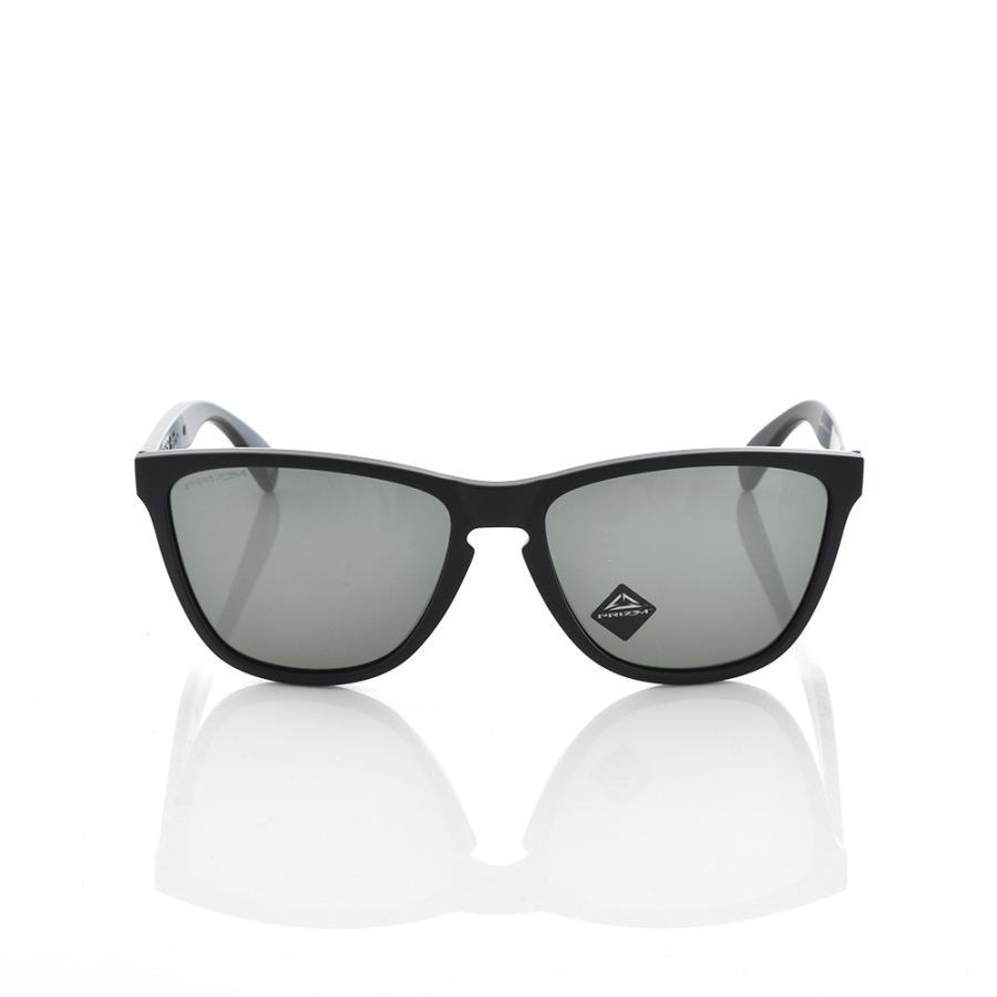 オークリー OAKLEY サングラス フロッグスキン 35周年記念モデル 数量限定 メンズ マットブラック Frogskins 35th Anniversary Limited Edition OO9444F-0257|stay|02