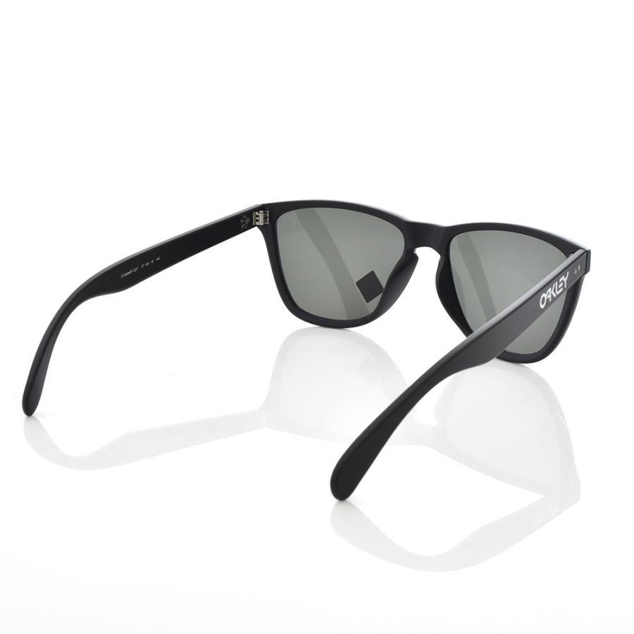 オークリー OAKLEY サングラス フロッグスキン 35周年記念モデル 数量限定 メンズ マットブラック Frogskins 35th Anniversary Limited Edition OO9444F-0257|stay|03