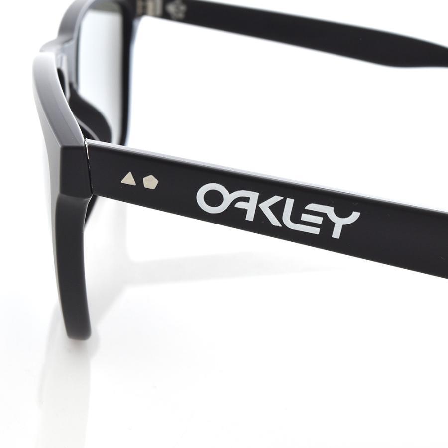 オークリー OAKLEY サングラス フロッグスキン 35周年記念モデル 数量限定 メンズ マットブラック Frogskins 35th Anniversary Limited Edition OO9444F-0257|stay|05