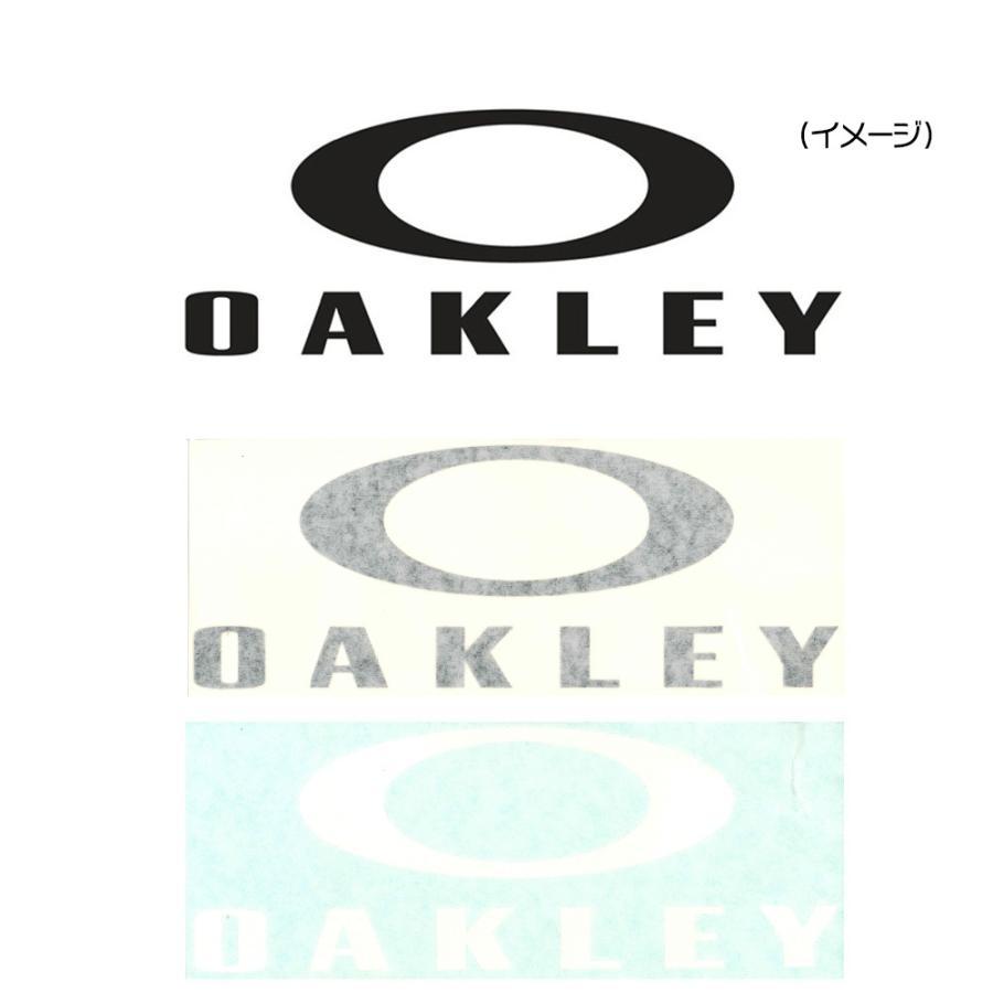 オークリー OAKLEY ステッカー ファンデーションロゴ カッティングステッカー ラージ ダイカット シール デカール アウトドア 黒 白AOO0002ET|stay