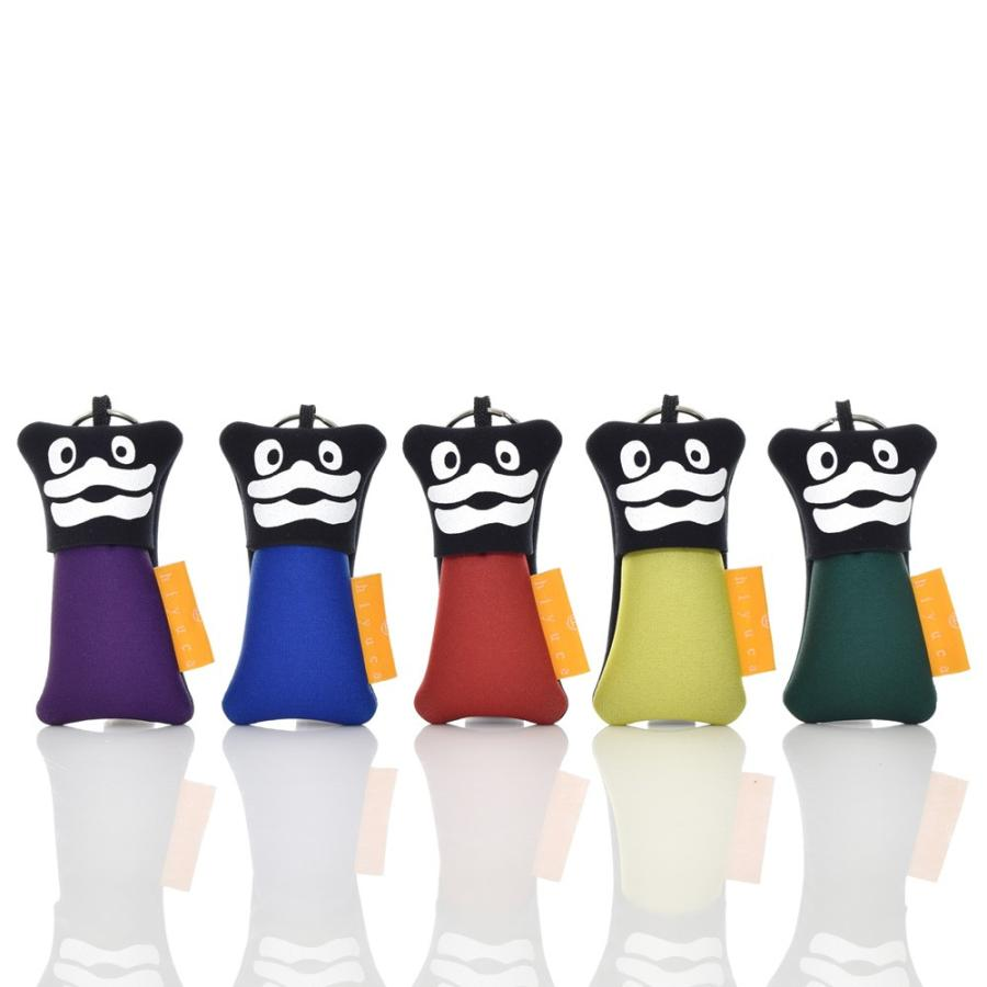 ヒユカ Hiyuca Mr.Eco-Lips ミスターエコリップス キーケース リップクリームケース サステナブル レディース メンズ ブランド メンバーカラー かわいい 日本製 stayblue
