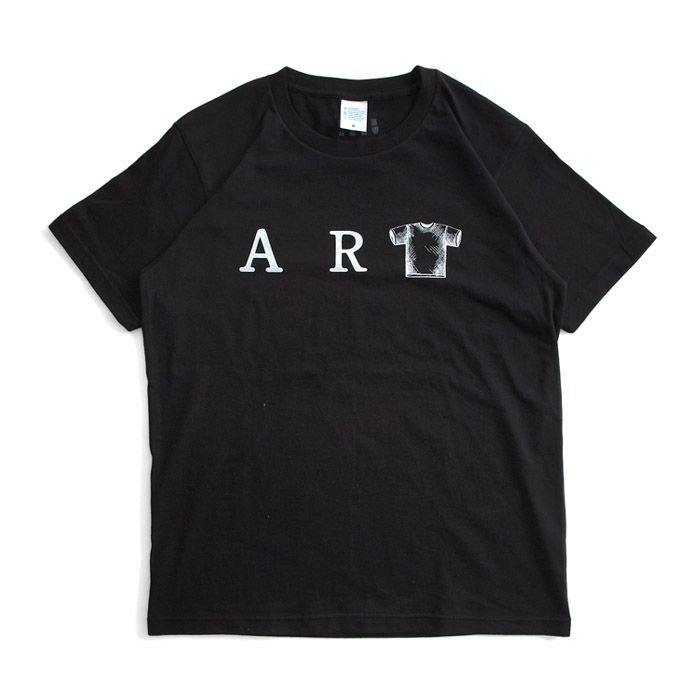 Tシャツ ライフ イズ アート ART Black メンズ stayblue