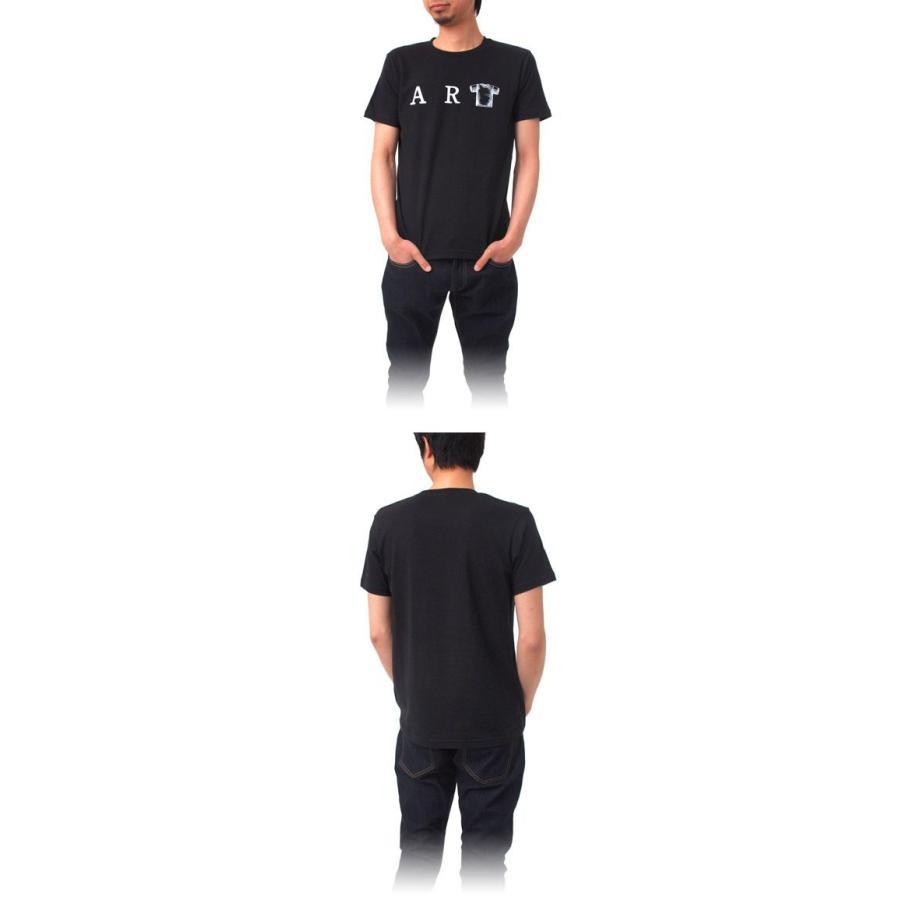 Tシャツ ライフ イズ アート ART Black メンズ stayblue 02