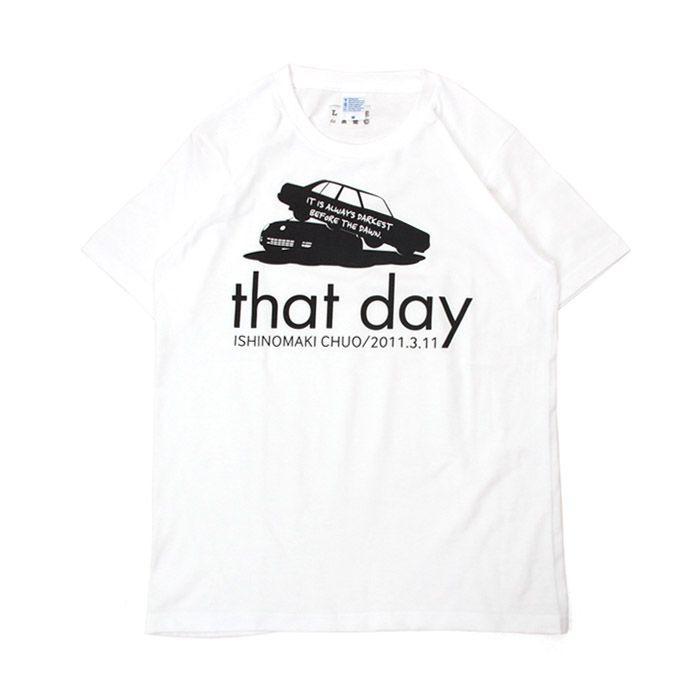 Tシャツ ライフ イズ アート CAR White メンズ stayblue