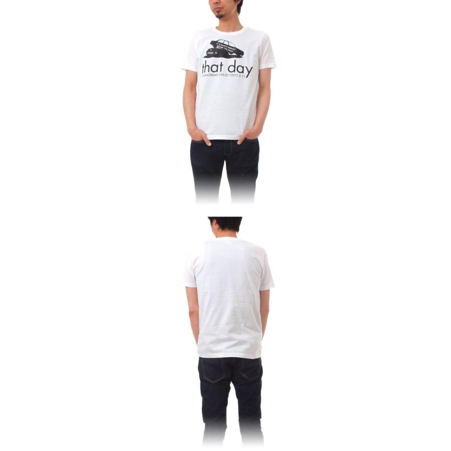 Tシャツ ライフ イズ アート CAR White メンズ stayblue 02