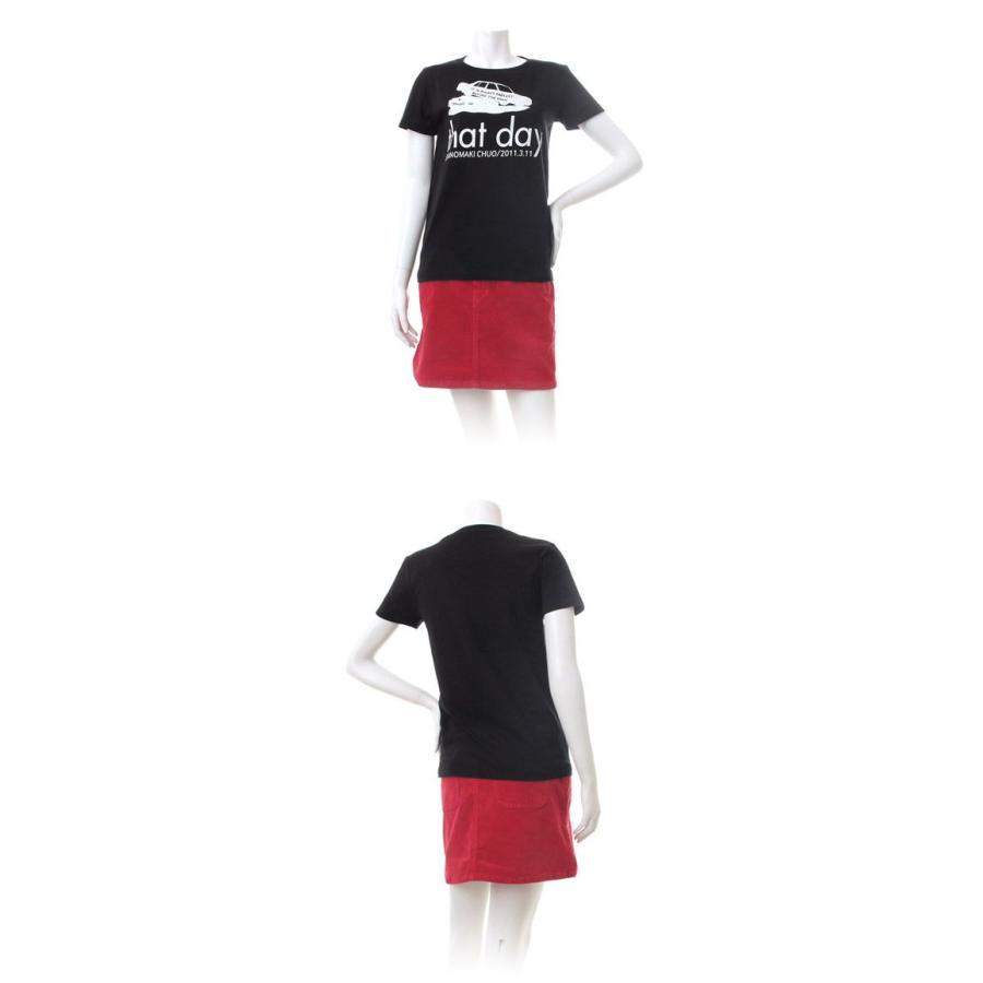 Tシャツ ライフ イズ アート CAR Black レディース|stayblue|02