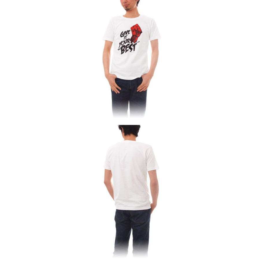 Tシャツ ライフ イズ アート × CREAM GRAPHICS Tシャツ Your best White メンズ|stayblue|02