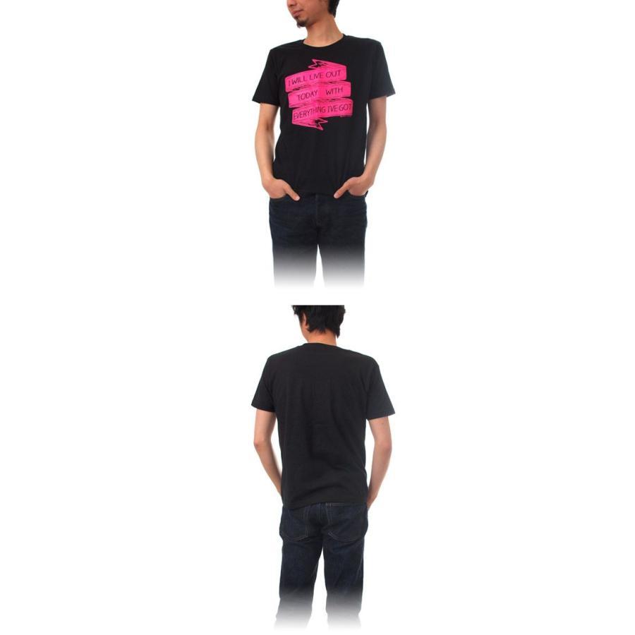 Tシャツ ライフ イズ アート × CREAM GRAPHICS Tシャツ I will Black メンズ|stayblue|02