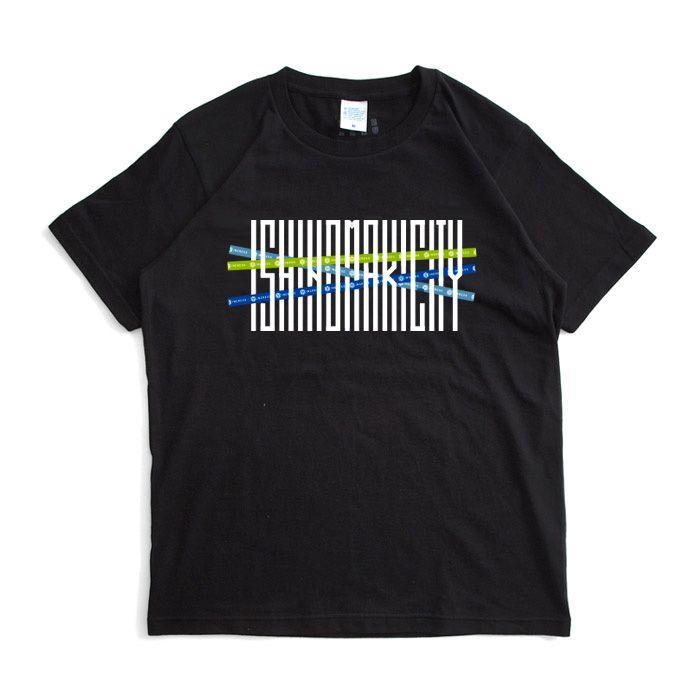 ライフ イズ アート Ingress×イトナブ Tシャツ Black メンズ|stayblue