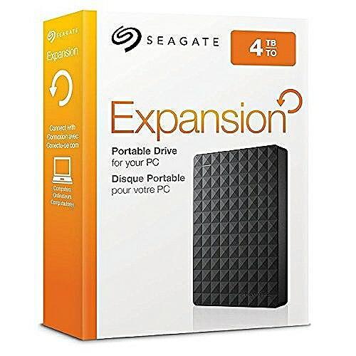 SEAGATE Expansion 外部HDD 4TB ポータブルハードディスク シーゲート テレビ対応 STEA4000400|steady-store