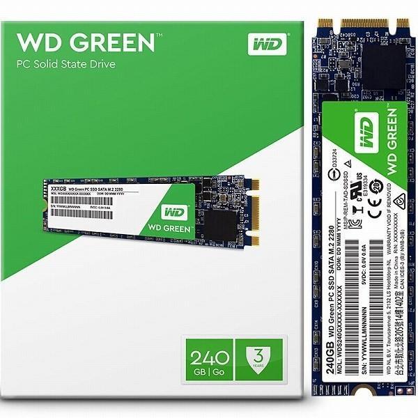 Western Digital WD GREEN SSD 240GB WDS240G2G0B ウエスタンデジタル|steady-store