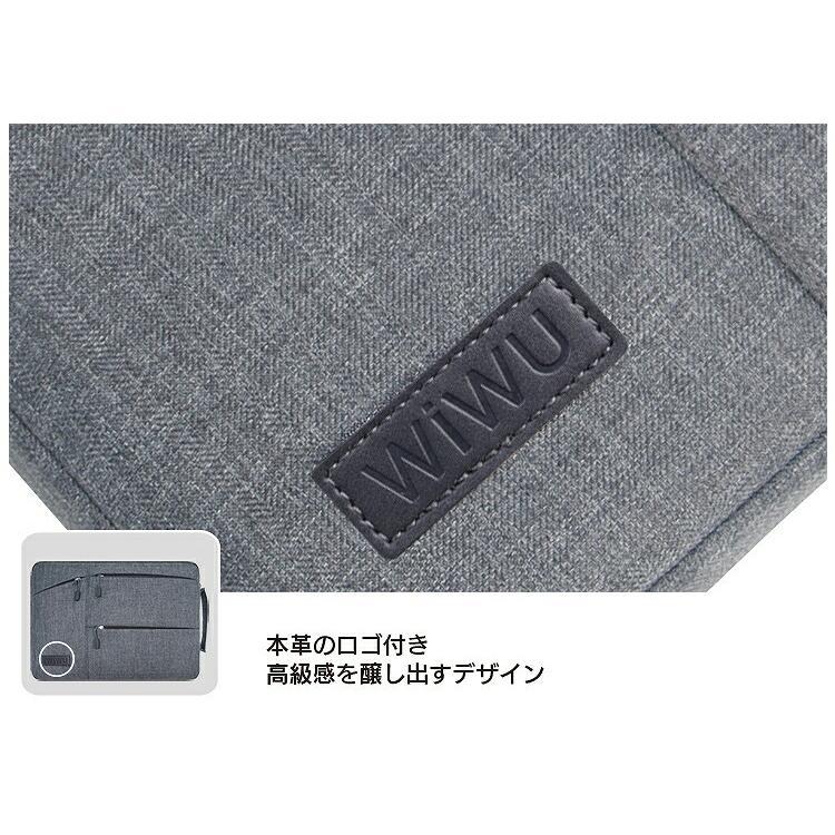 wiwu 15.6インチ ビジネスバッグ インナーバッグ PCケース 2色ipad/surface pro/surfacebook/macbook/ノートパソコン/Laptop2/タブレット steady-store 12