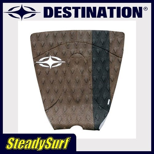トラクション DESTINATION DS Keith Mlloy(キース・マロイ)ブラウン×ブラック デッキパッド/デスティネーション/サーフィン