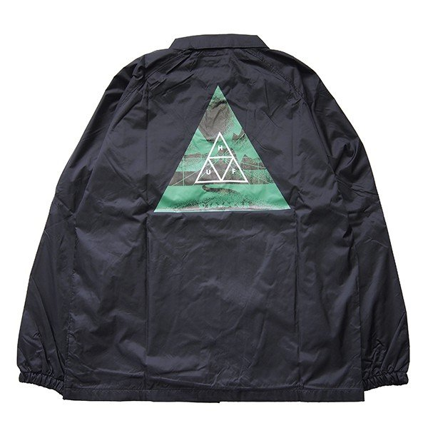 HUF ハフ DIMENSIONS COACHES JACKET|steelo