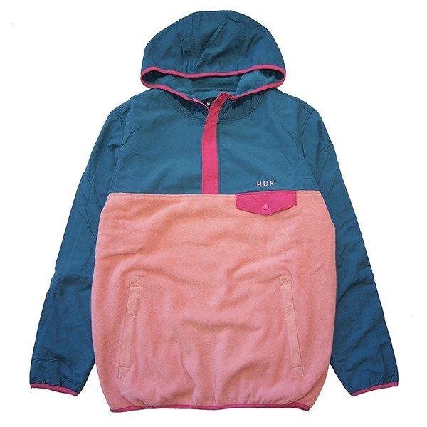 HUF ハフ MUIR HOODED PULLOVER JACKET|steelo