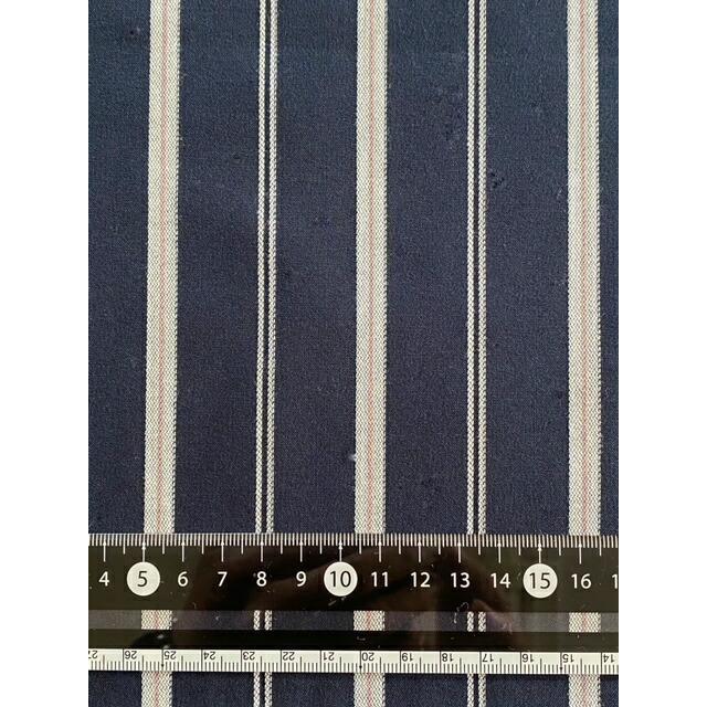 ストレッチストライプ  STELLAの服地 イエロー、ブルー、ネイビーの3色|stella-0707|07