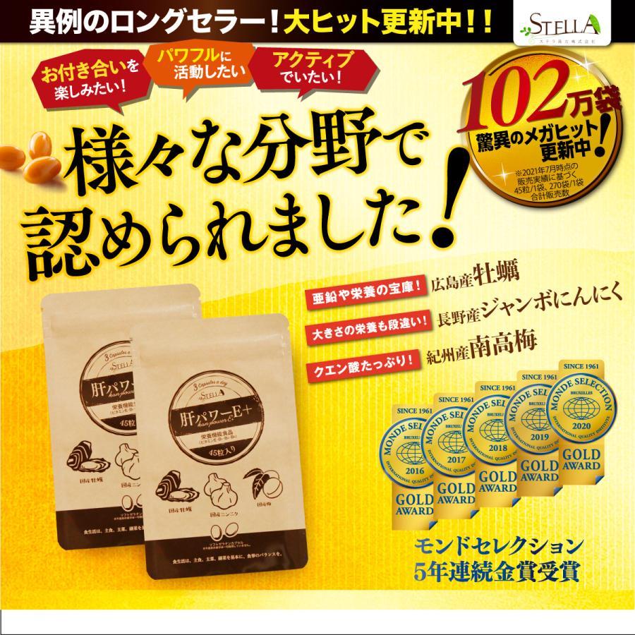 肝パワーEプラス1袋 牡蠣 亜鉛 にんにく 健康 サプリ サプリメント ステラ漢方公式保証 stella-store 02