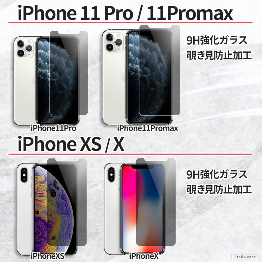 iPhone 保護フィルム 覗き見防止 iPhone13 iPhone12 mini 12 Pro Max iPhone11 iPhone SE ガラスフィルム 全面 SE2 第2世代 カバー シール stellacase 06