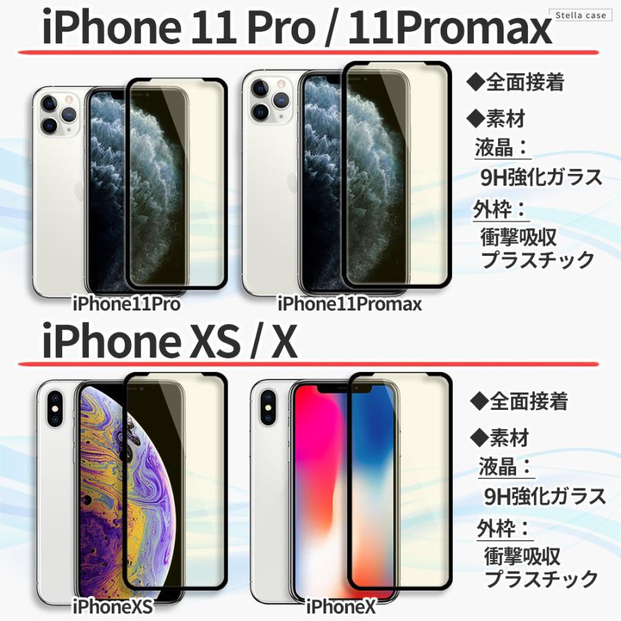 iPhone 保護フィルム ブルーライトカット 全面保護 iPhone13 iPhone12 mini 12 Pro Max iPhone11 iPhone SE ガラスフィルム 全面 SE2 第2世代 カバー シール stellacase 05