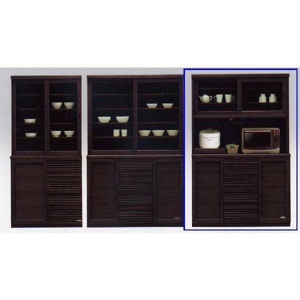 食器棚 完成品 幅120cm 和風 和風 安い おしゃれ (開梱設置無料)