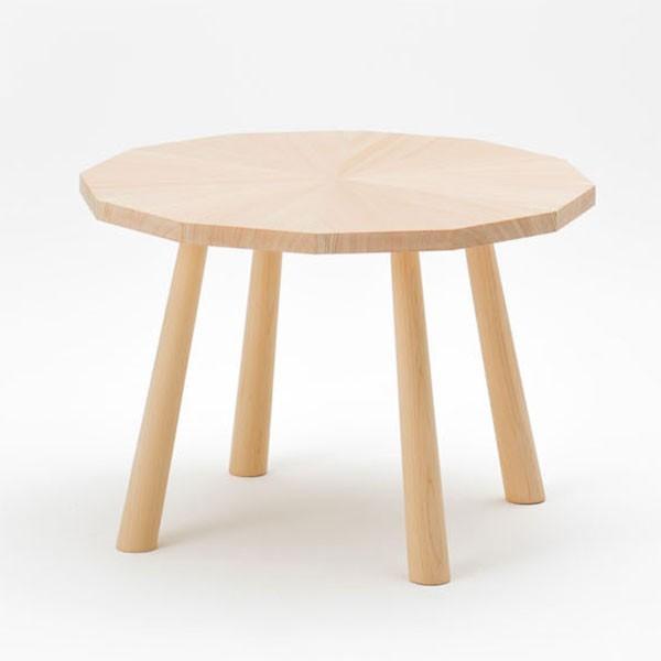 ラウンジテーブル ヒノキ製 天然木 日本製【代引不可】【受注生産】
