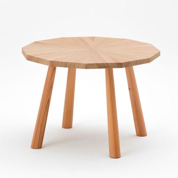 ラウンジテーブル スギ製 天然木 日本製【代引不可】【受注生産】