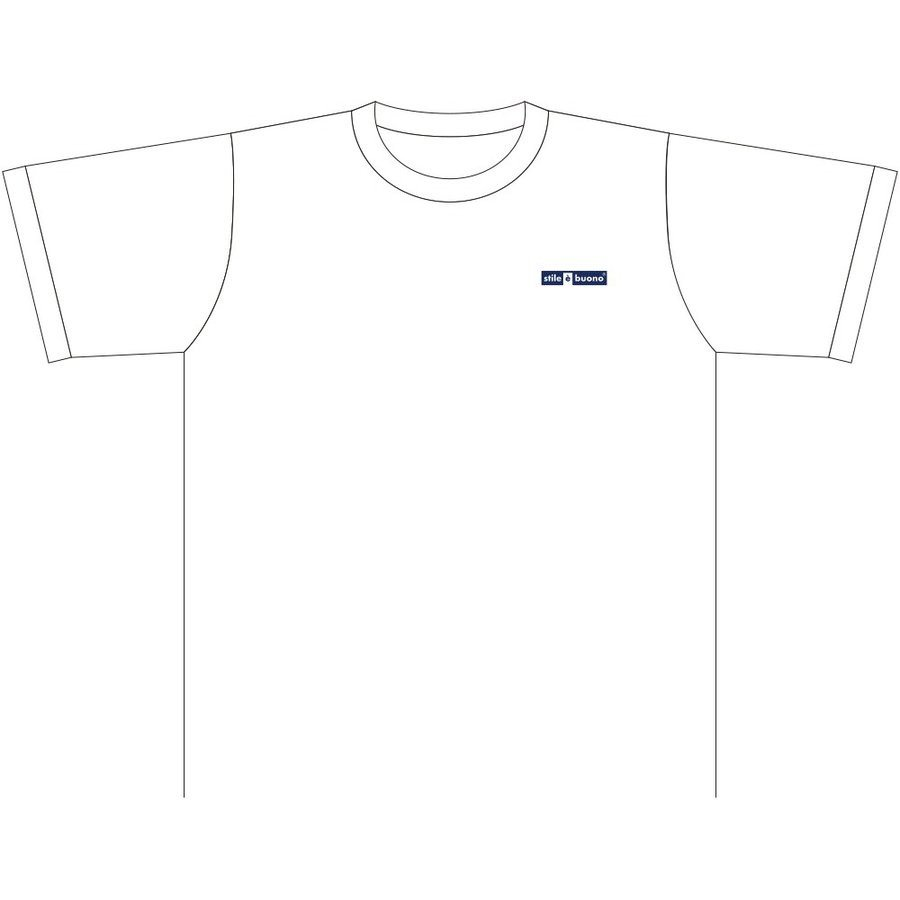 岡崎遥海選手 アスリートサポートTシャツ (ホワイト) stilebuono 02