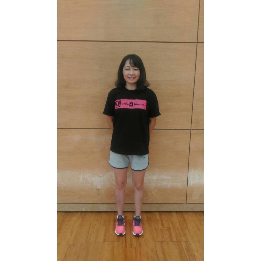 岡崎遥海選手 アスリートサポートTシャツ (ホワイト) stilebuono 04