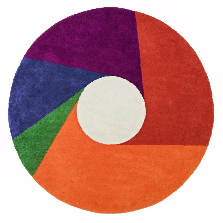 MAX BILL RUG Color Wheel φ2000mm マックス・ビル ラグ マット リビングサイズ