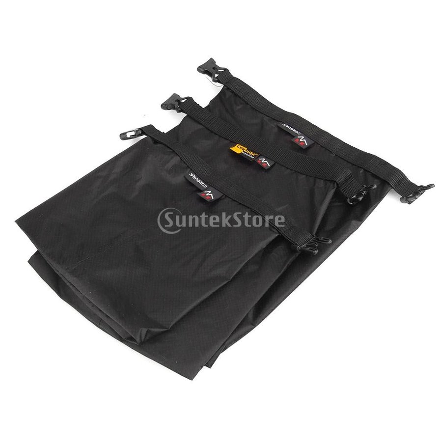 ドライバッグ ドライチューブ 防水 3点セット 防水性ドライサック ドライバッグ 収納袋 ポーチ|stk-shop|02