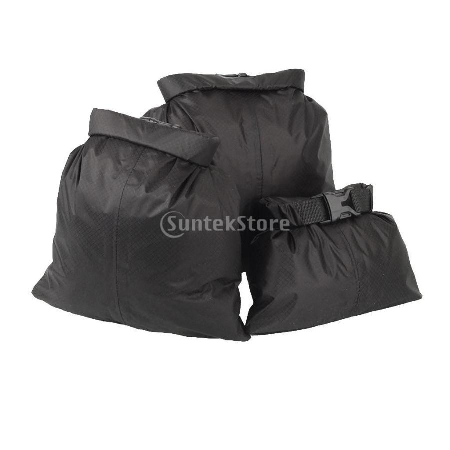 ドライバッグ ドライチューブ 防水 3点セット 防水性ドライサック ドライバッグ 収納袋 ポーチ|stk-shop|09
