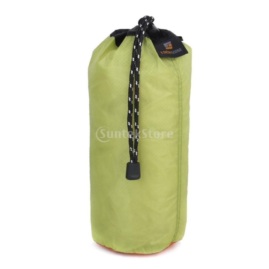 ノーブランド品 20リットル超軽量シリカゲル雑物収納袋 超軽量の防水の締め紐保存用バッグ オーガナイザー旅行 サイズXL 緑 正規店 低価格