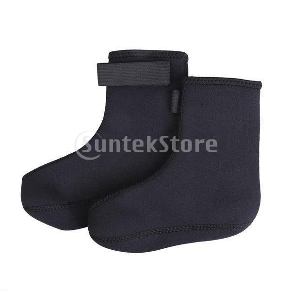 ダイビング ソックス 水泳 靴下 ブーツ ウォーター スポーツ サーフィン 黒 XL|stk-shop|02