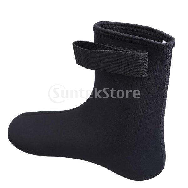 ダイビング ソックス 水泳 靴下 ブーツ ウォーター スポーツ サーフィン 黒 XL|stk-shop|03
