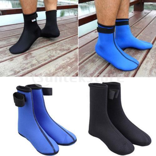 ダイビング ソックス 水泳 靴下 ブーツ ウォーター スポーツ サーフィン 黒 XL|stk-shop|07