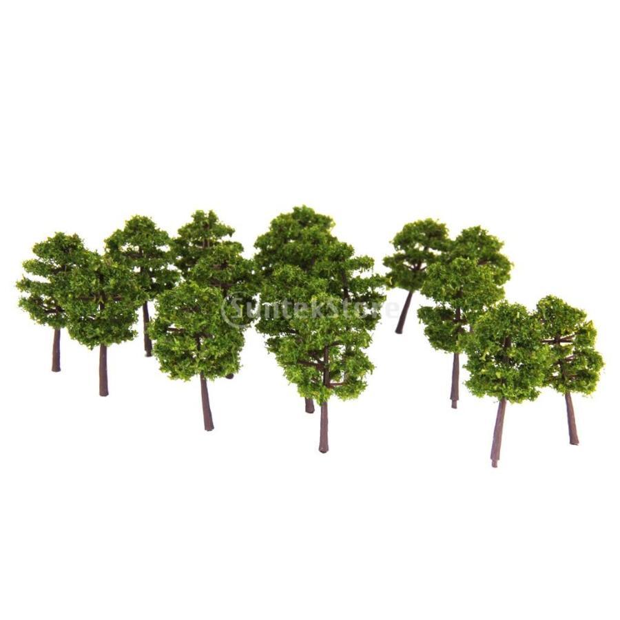 爆買い新作 ノーブランド品 樹木 モデルツリー 20本 箱庭 鉄道模型 スーパーセール ジオラマ
