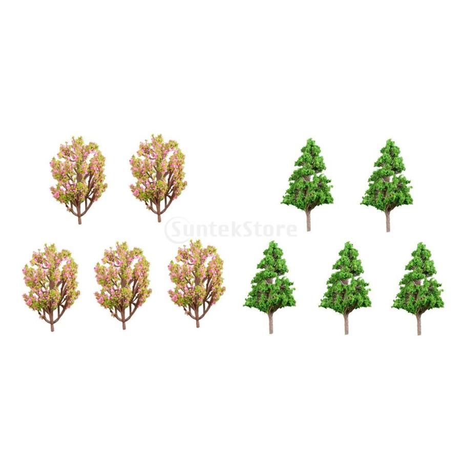 ミニチュア 10個入 高級 マイクロ風景置物 盆栽 装飾 DIY 全店販売中 ツリー 工芸品