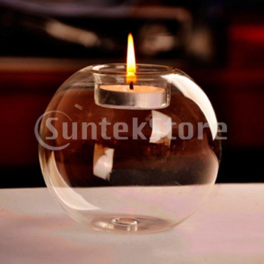 毎日激安特売で 営業中です 日時指定 2pcs透明なCandlerのホールダーの卓上の燭台の奉納の蝋燭ホールダー