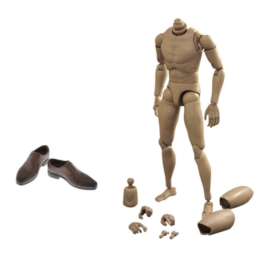 新生活 1:6 Flexle男性Semaless失礼な体の筋肉スケルトンアイオンフィギュアに適用 入荷予定