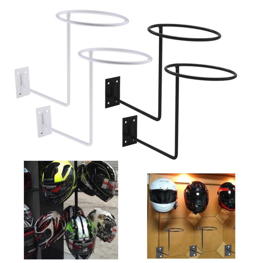 高額売筋 半額 4ピース 個ヘルメットホルダー壁掛け帽子ボールかつらラックハンガーフックディスプレイスタンド