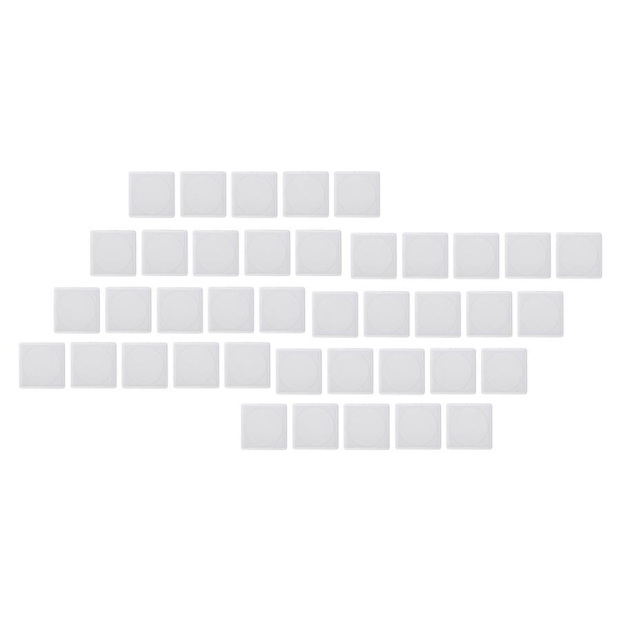 40ピース 返品送料無料 激安挑戦中 個透明アクリルコインカプセルコレクションディスプレイホルダー収納ボックス