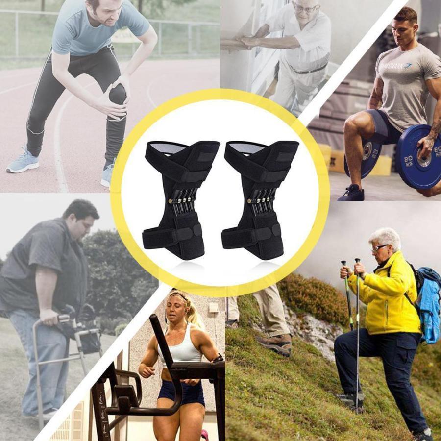 脛骨ブースター 膝サポーター 膝保護ブースター 調節可能 70%OFFアウトレット 関節靭帯保護 激安通販 登山 怪我防止 2個入 スポーツ