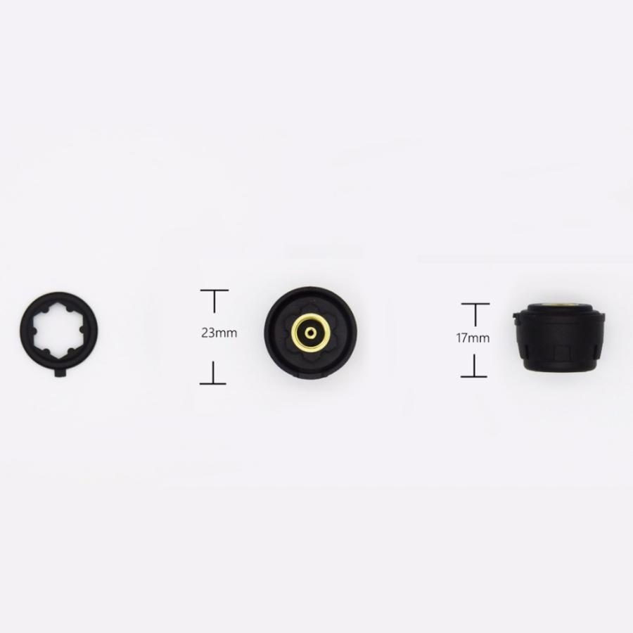 タイヤ空気圧警報モニター RVカー TPMSタイヤ空気圧アラーム モニターシステム ソーラーパワー外部センサー 太陽光発電外部センサー|stk-shop|16