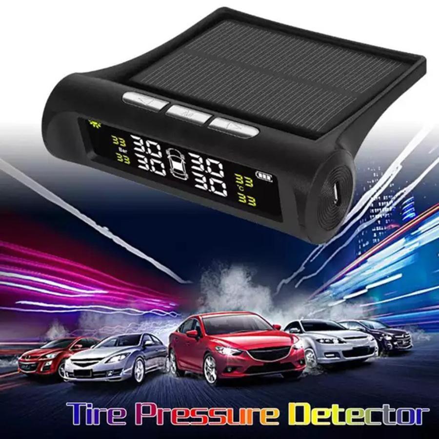 タイヤ空気圧警報モニター RVカー TPMSタイヤ空気圧アラーム モニターシステム ソーラーパワー外部センサー 太陽光発電外部センサー|stk-shop|07