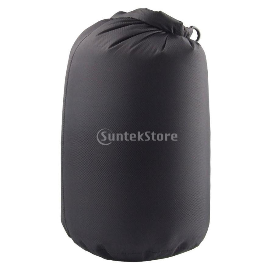 ドライバッグ 約80リットル 防水 防塵 ロールトップ 圧縮袋 ドライサック 全4種類 - ブラック stk-shop 02
