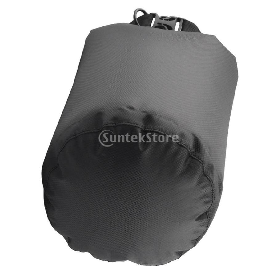 ドライバッグ 約80リットル 防水 防塵 ロールトップ 圧縮袋 ドライサック 全4種類 - ブラック stk-shop 11